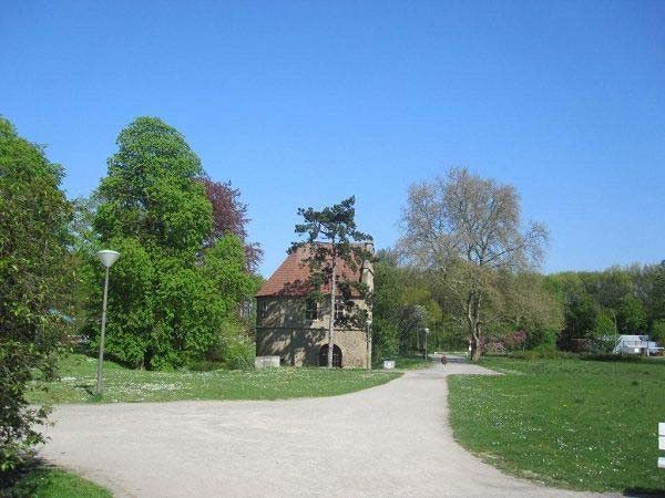 Eingang Rombergpark